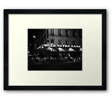 A little place I know Framed Print