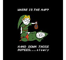Where is the Map Tingle ? Photographic Print