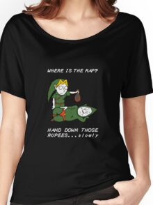 Where is the Map Tingle ? Women's Relaxed Fit T-Shirt