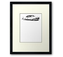 1954 Cadillac Coupe Framed Print