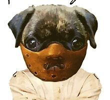 silence of the pugs by darklordpug