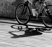 Hot summer afternoon shadows by JudyBJ