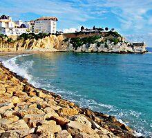 Benidorm's little Mal Pas beach by lisachloe