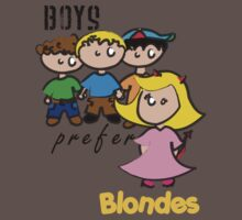 Boys prefer blondes by Mloes