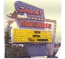 Frish's Mainliner Poster