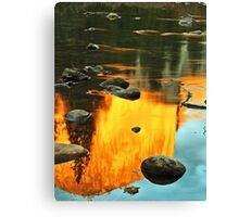 El Capitan Reflection Canvas Print
