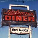 Littleton's Diner Sign by Steven Godfrey