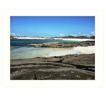 Sanna Beach No.2 Art Print