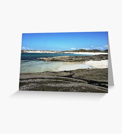 Sanna Beach No.2 Greeting Card