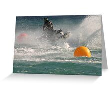 Super Charged Spray! Greeting Card