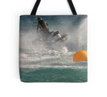 Super Charged Spray! Tote Bag