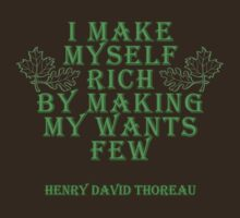 Henry David Thoreau Quote by robotface