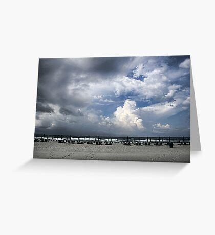 Beach Skies Greeting Card