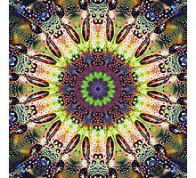 Rainbow Color Droplets Photographic Print