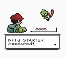 Wild Starter Pokemon Appeared! Kids Clothes