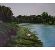 Vermillion River Photographic Print