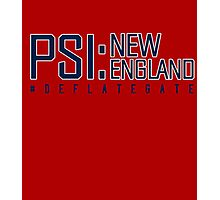 Deflate Gate - PSI: New England Photographic Print