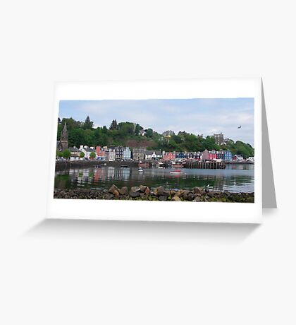 Beautiful Day in Tobermory Greeting Card