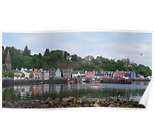 Beautiful Day in Tobermory Poster