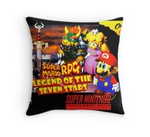 Legend of the Seven Stars Throw Pillow