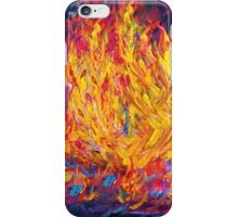 Fire and Passion - Here's to New Beginnings iPhone Case/Skin