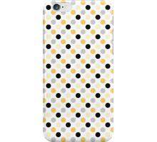 Yellow Black Dots iPhone Case/Skin