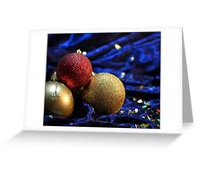 Tis the Season to be Sparkly Greeting Card