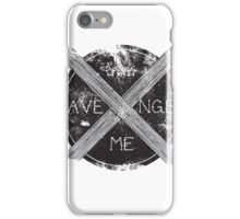 Avenge Me iPhone Case/Skin