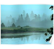 Turquoise Tranquillity Poster