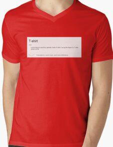 Fashionable T-shirt Mens V-Neck T-Shirt