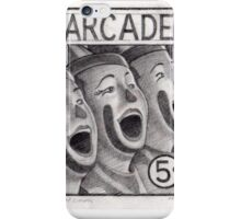 ArcadePencil study from the sereis Sideshow Serenade iPhone Case/Skin