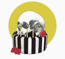 skull cake by IanByfordArt