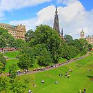 East Princes Street Gardens II by Tom Gomez
