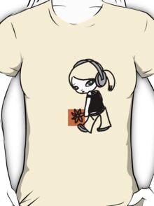 Girl M Orange T-shirt T-Shirt