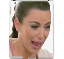 sad kim k pt. 2 iPad Case/Skin