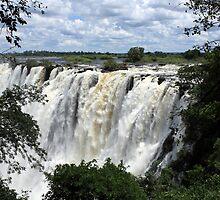 Victoria Falls View  by aidan  moran