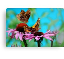 BFF Best Friend Fritillaries  Metal Print