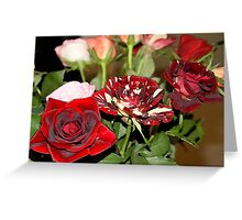 Flores Greeting Card