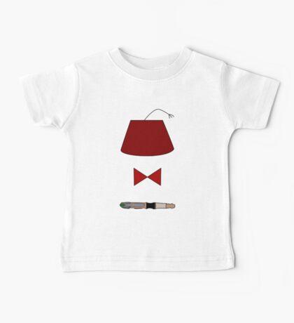 11th Doctor Minimalist Piece Baby Tee