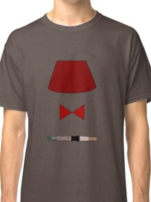 11th Doctor Minimalist Piece Classic T-Shirt