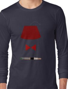 11th Doctor Minimalist Piece Long Sleeve T-Shirt