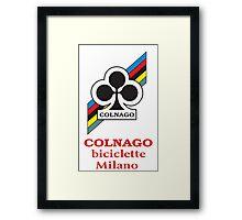COLNAGO Framed Print