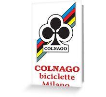 COLNAGO Greeting Card