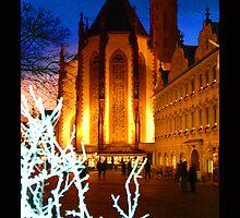 Wurzberg in Winter Eve by Christine Richardson
