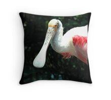 Spoonbill Throw Pillow