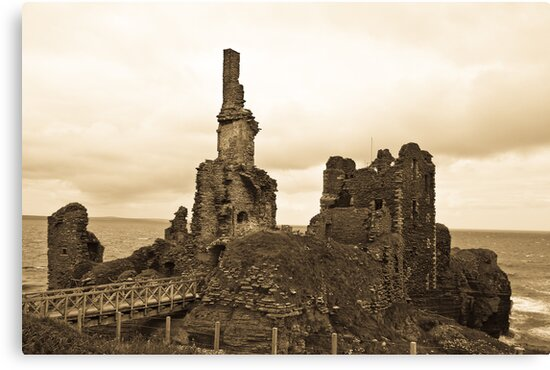Sinclair Castle by James Lyall