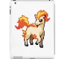 Pixelated Ponyta iPad Case/Skin