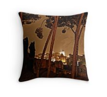 """La Notte di Roma - Rome Italy"" Throw Pillow"