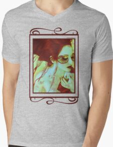 The Bleeding Dream - Self Portrait Mens V-Neck T-Shirt
