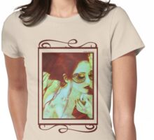 The Bleeding Dream - Self Portrait Womens Fitted T-Shirt